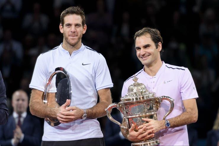 Federer y Del Potro, integrantes del Top 10.