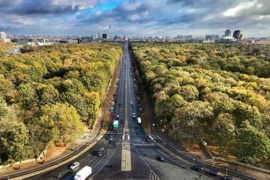 El Tiergarten, el megapulmón verde de la ciudad, es ideal para caminatas o paseos en bicicleta