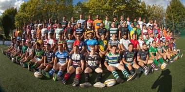 Otra imagen con los participantes de los 91 equipos