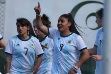 Rocío Correa, delantera del seleccionado argentino.