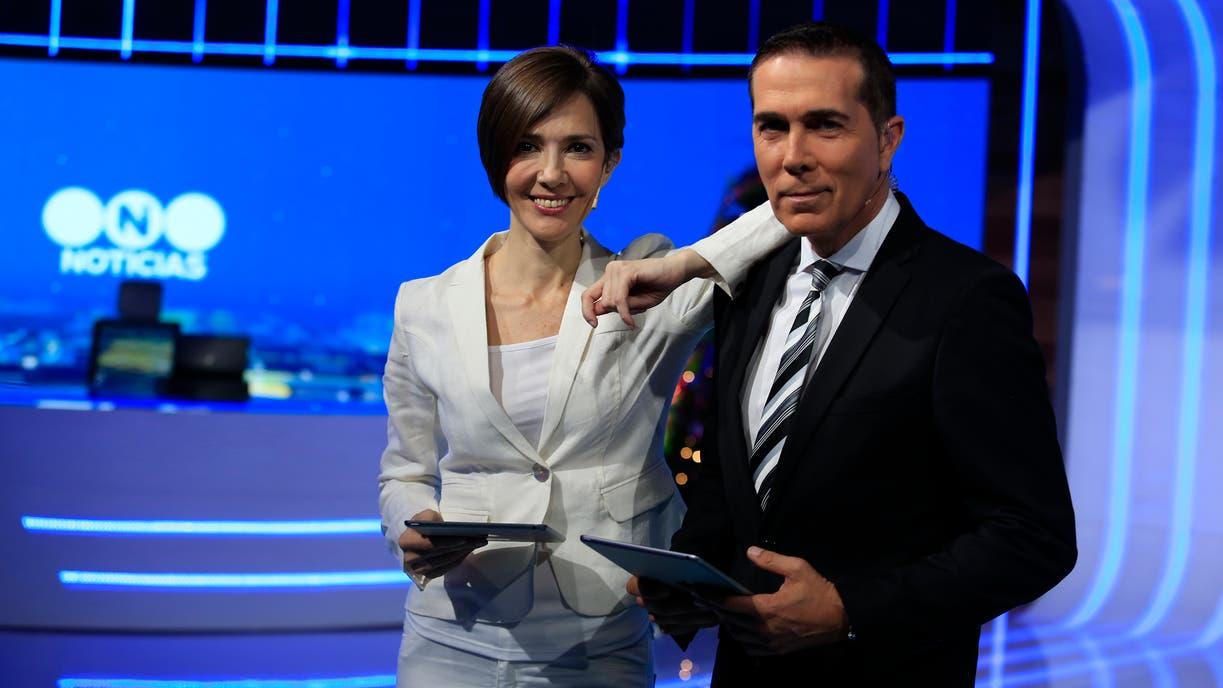 Cristina Pérez y Rodolfo Barili, celebran quince años al frente del principal noticiero de Telefe