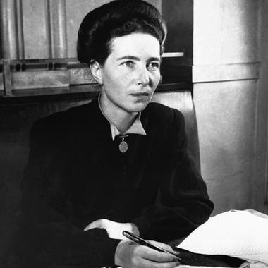 """El segundo sexo"" (1949) de Simone De Beauvoir (1908-1986) inspiró la llamada segunda ola del feminismo"