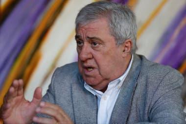 Jorge Ameal, candidato a presidente por una de las listas opositoras; competirá con Mario Pergolini y Juan Román Riquelme