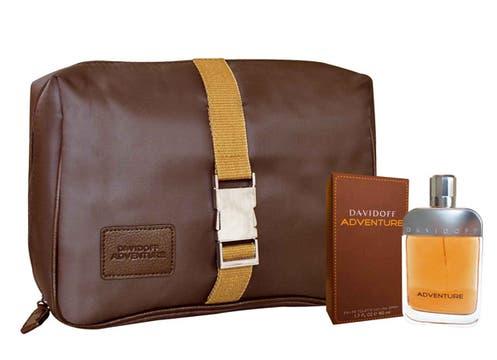 Cofre Davidoff Adventure de 50 ml más Toeletry Bag; $ 211. Foto: lanacion.com