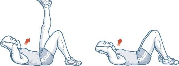 Más allá de la fantasía de raviolitos marcados en la panza, los abdominales tienen beneficios para nuestra salud. Recomendaciones para hacerlos y no aburrirnos en el intento.