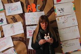 Isabel Paván cumple 31 años de voluntaria en el hospital Elizalde