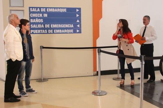 Una de las escenas del final de Graduados. Foto: Prensa Telefé