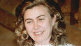 Barbara Piasecka en 1986 cuando llegó a un arreglo legal con los hijos del heredero
