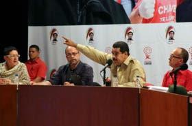 El presidente de Venezuela, Nicolás Maduro, en un acto de gobierno el pasado fin de semana