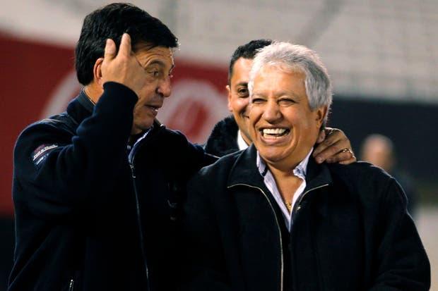 Los futbolistas argentinos campeones de 1978 se juntaron, en un homenaje que organizó River, en el Monumental. Se cumplen 35 años de la final del Mundial, que se le ganó a Holanda 3 a 1. No estuvieron Kempes, Alonso y Lavolpe.  /Fotos de Reuters