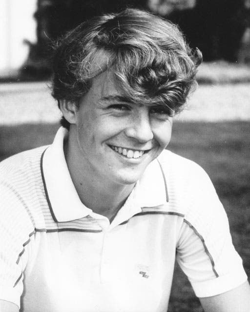 1986: Friso adolescente.  Foto:  / AP y Getty Images