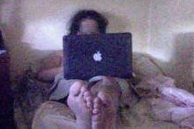 Mike siguió la cronología de quién adquirió su laptop robada gracias a un software de seguridad