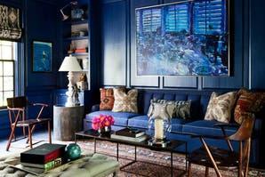 Azul navy, uno de los tonos estrella de la temporada