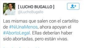 El tuit de Bugallo