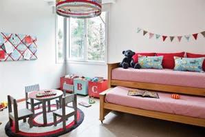 Claves para decorar un cuarto infantil compartido