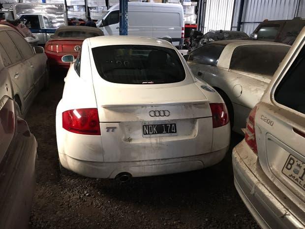 El Audi que se remató en la Aduana