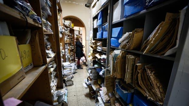 Una recorrida por los despachos de Tribunales donde se acumulan expedientes de juicios laborales. Foto: LA NACION / Ricardo Pristupluk