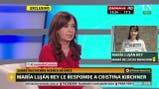 """María Luján Rey: """"Es una falta de respeto lo que dijo Cristina"""""""