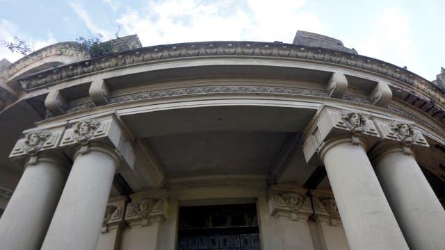 El único edificio que queda en pie de los festejos de 1910. Foto: Archivo / Marcelo Gómez