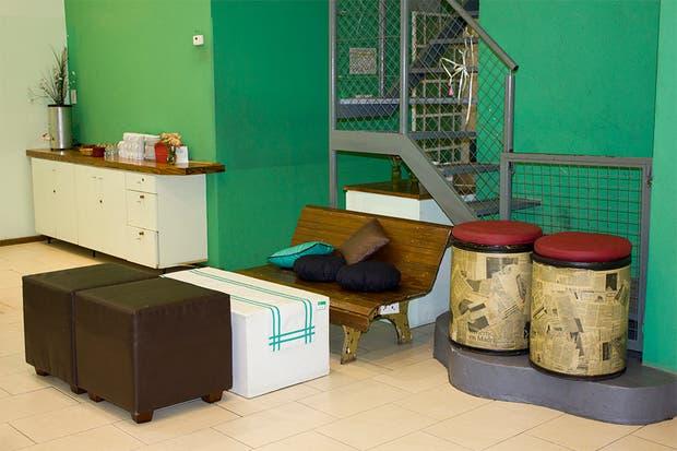 Otro espacio para que las madres descansen..¡finalmente!. Foto: Gentileza Agustina Ferreri