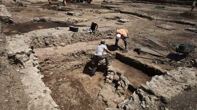 Los pobladores abandonaron el lugar escapando del fuego, pero este también ayudo a la preservación de los restos.