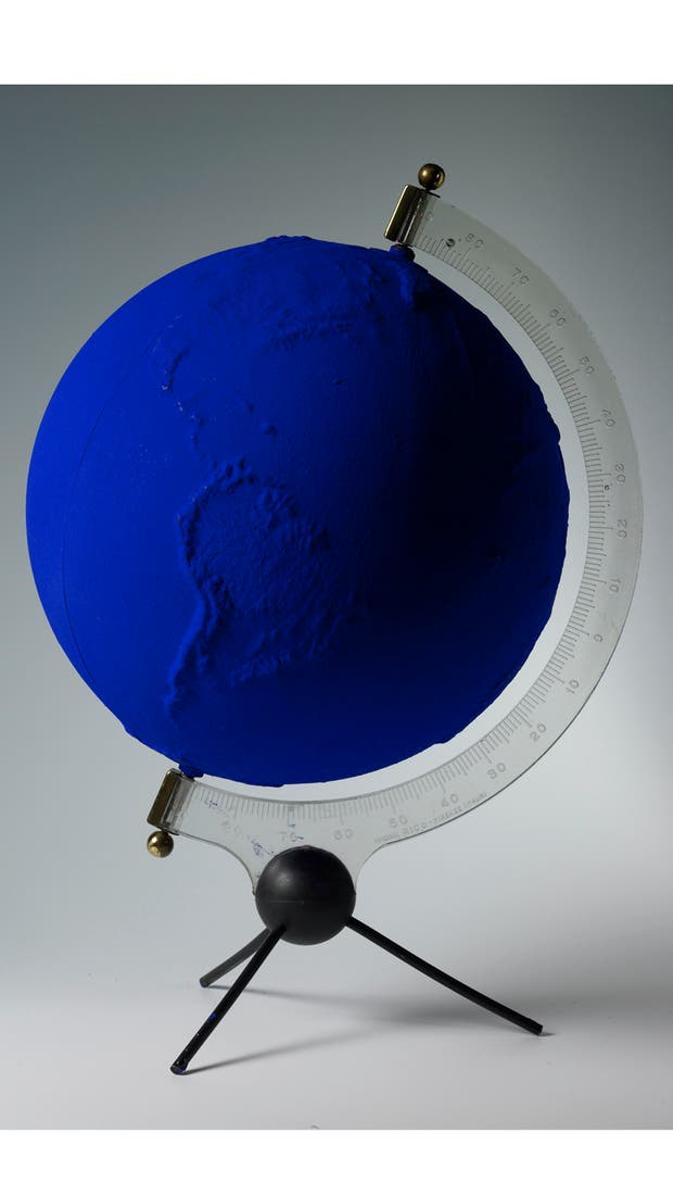 Yves Klein. La primera muestra retrospectiva del artista en América Latina llegará a Fundación Proa en marzo próximo. Gentileza Fundación Proa