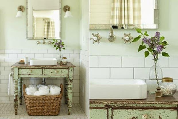 Ideas para un baño con estilo rústico - Living - ESPACIO ...