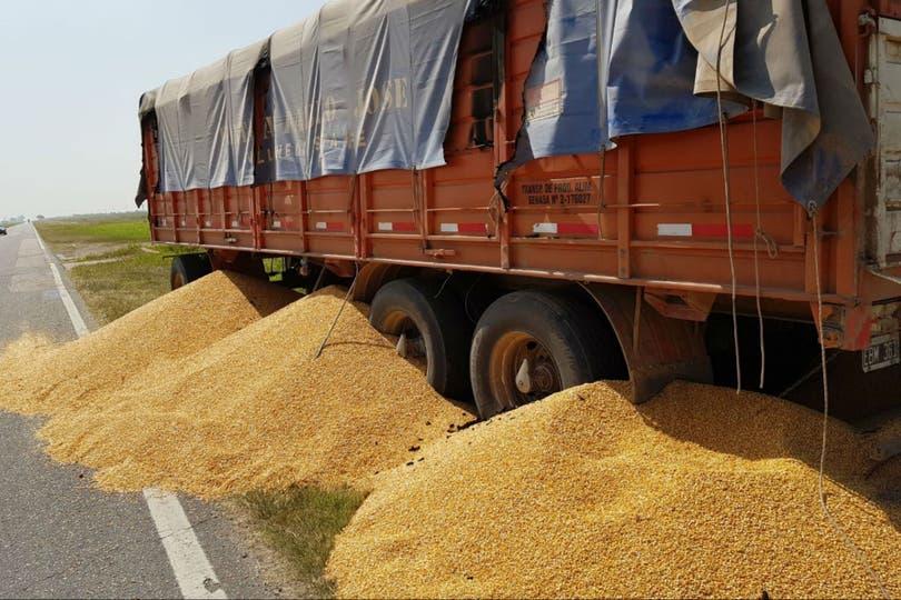 Durante el paro que realizaron transportistas autoconvocados hubo ataques a camiones de quienes no se adhirieron a la medida de fuerza