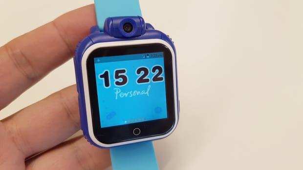 Bipy es un reloj para chicos con conexión celular