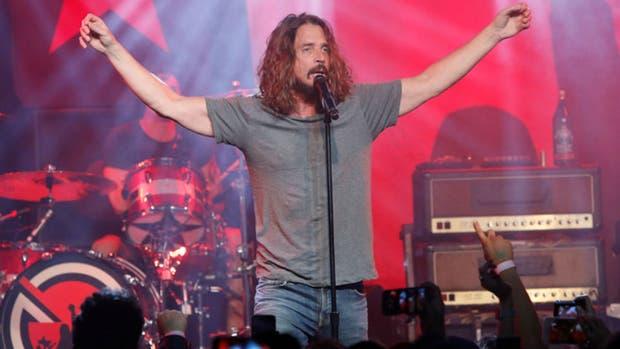 Chris Cornell, en su último concierto