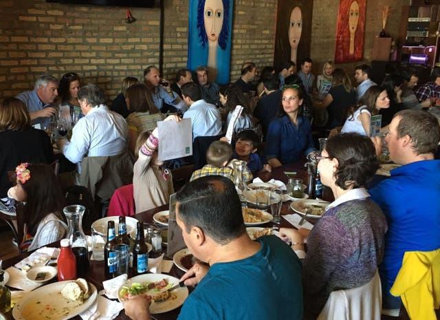 Comida por la educación: un almuerzo de la Fundación Argentina-Chicago, para recaudar fondos para proyectos educativos
