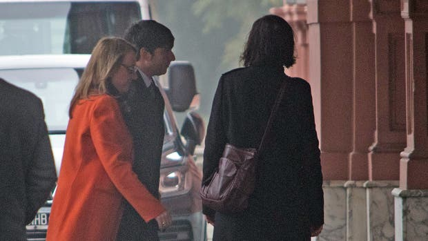Alicia Kirchner se reúne con Macri en la Casa Rosada