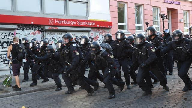 Durante la jornada de hoy continuaron las protestas