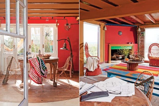 Dos propuestas de color para las paredes de tu living   decorar ...