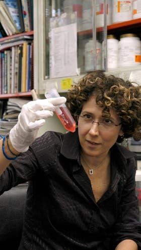 La científica Andrea Gamarnik