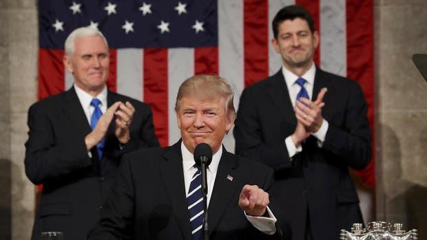 De qué temas habló Trump en su discurso
