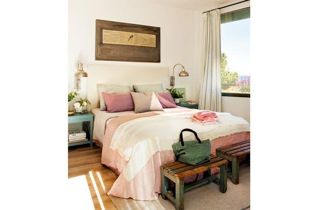 Las cortinas son fundamentales para brindar privacidad y oscuridad a la hora del descanso. Para el cuarto podés elegir géneros más pesados que para el resto de la casa.  /Elmueble.com