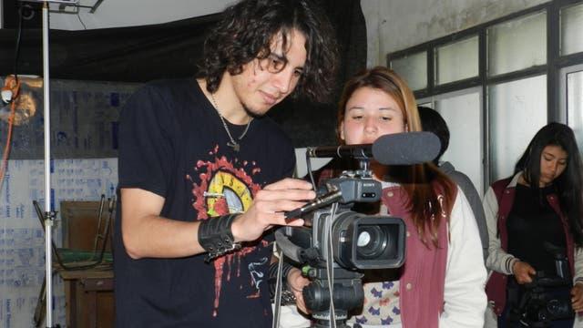 José C. Paz: aprenden detrás de cámara