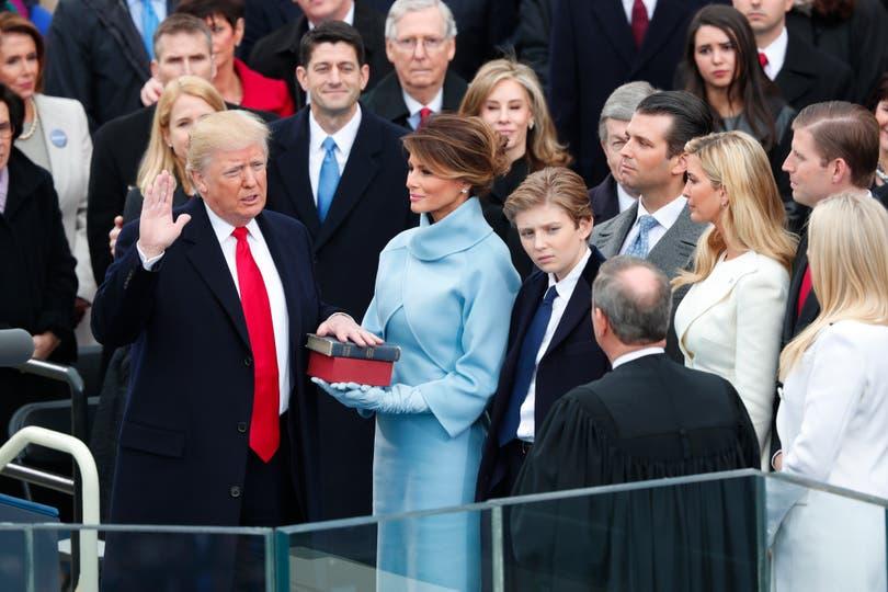 La esposa y los hijos del presidente tuvieron un año movido en la Casa Blanca