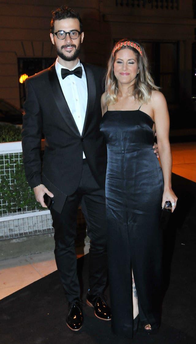 Diego Leuco fue junto a su novia, Dani
