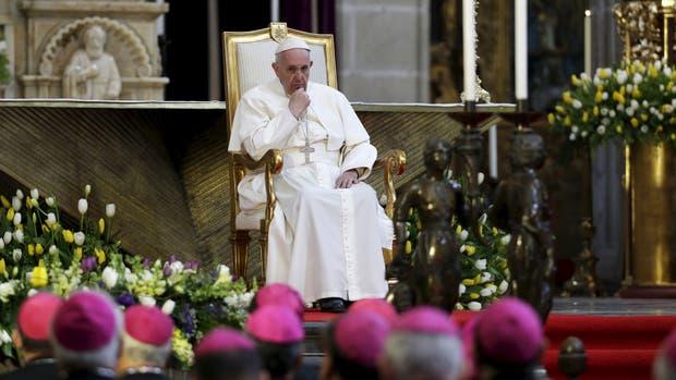 El Papa les habló a los obispos mexicanos