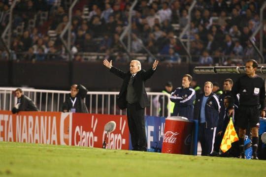 Un triunfo argentino dejará al equipo de Sabella muy cerca de Brasil 2014. Foto: LA NACION