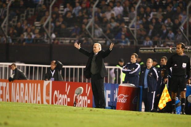 Un triunfo argentino dejará al equipo de Sabella muy cerca de Brasil 2014.  Foto:LA NACION