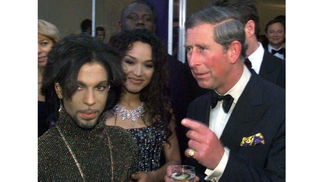 Compartió una fiesta con el cantante Prince en junio de 1999