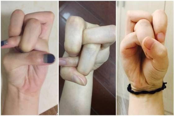 Algunas de las imágenes que compartieron los usuarios de Weibo