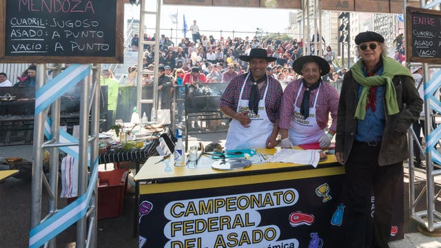 2do Campeonato Federal del asado.