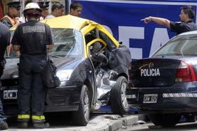 El día del accidente una joven de 22 perdió la vida
