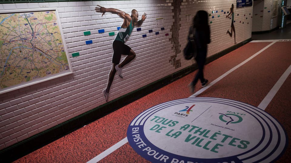 París festeja la realización de los Juegos Olímpicos 2024 en Francia. Foto: AFP / Lionel Bonaventure