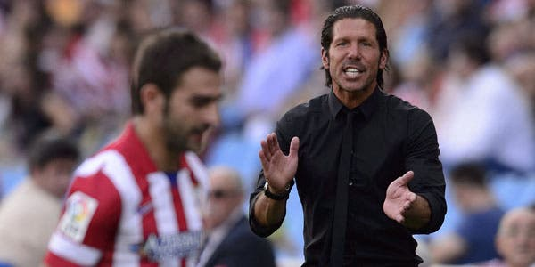 El Cholo sigue con puntaje ideal con su Atlético