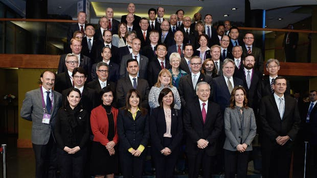 Ministros de Relaciones Exteriores en la Cumbre